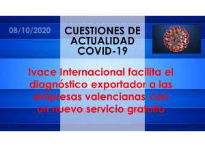 Ivace Internacional facilita el diagnóstico exportador a las empresas valencianas con un nuevo servicio gratuito