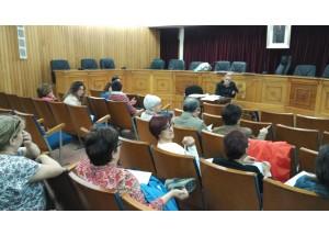 Reunión de coordinación para el sector comercial de Chiva
