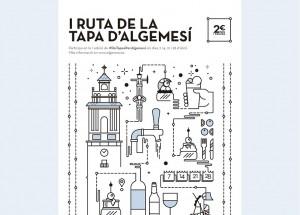 I RUTA DE LA TAPA ALGEMESI