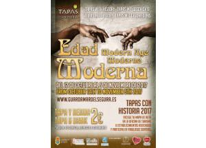 TAPAS CON HISTORIA 2017:LA EDAD MODERNA