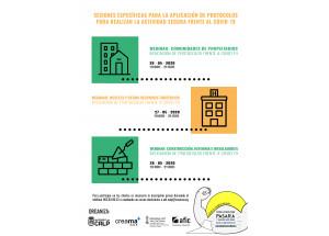 Webinar Protocolos para Realizar la Actividad Empresarial Segura frente al Covid-19 en Construcción, reformas e instalaciones