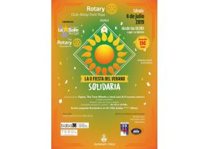 Arriba la II Festa Solidària organitzada pel Rotary Club Alcoy Font Roja