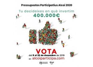 Ya se pueden votar los presupuestos participativos
