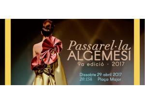 PASSAREL·LA ALGEMESI 2017