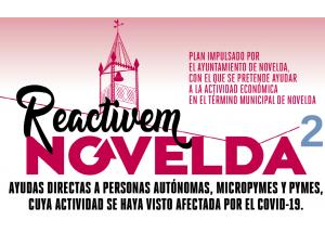 ABIERTO EL PLAZO DE LAS AYUDAS 'REACTIVEM NOVELDA II'