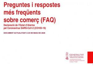 PREGUNTAS Y RESPUESTAS MAS FRECUENTES SOBRE COMERCIO (FAQ) ACTUALIZADO A 25 DE MAYO DEL 2020