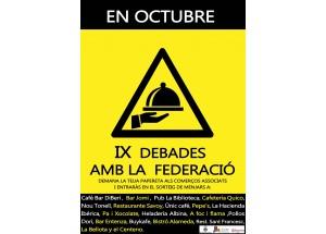EN OCTUBRE IX DEBADES AMB LA FEDERACIÓ