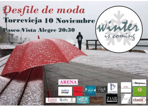 DESFILE WINTER IS COMING