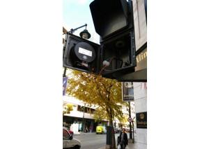 En marxa les obres per a que els semàfors d'Alcoi tinguen senyal acústic per a invidents