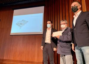 Presentada la proposta guanyadora del concurs per a la redacció del projecte de Rodes