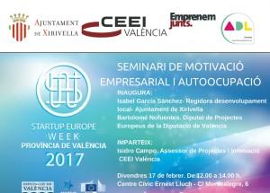 Jornada de motivación empresarial y autoempleo