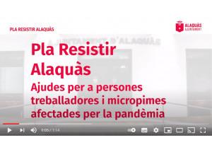 Video informativo sobre el Plan Resistir Alaquàs