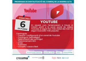 CREAMA INFORMA: Taller Youtube per a comerços