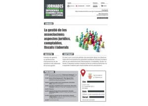 JORNADA FORMATIVA PARA ASOCIACIONES: CÓMO GESTIONAR LOS ASPECTOS JURÍDICOS, CONTABLES, FISCALES Y LABORALES