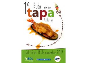 1ERA RUTA DE LA TAPA DE ALFAFAR