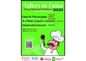 TALLERES COCINA MERCADO MUNICIPAL ONTINYENT 2020