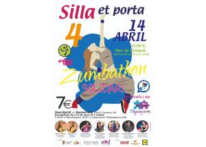 Silla et porta el IV Zumbathon Solidari