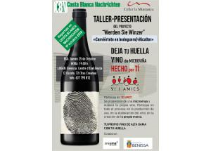 Taller presentación en Benissa: Microviña, conviertete en bodeguero/viticultor