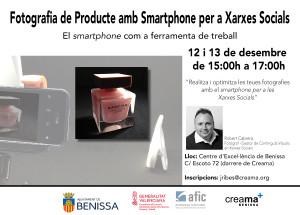 Taller de Fotografía con Smartphone para Redes Sociales en Creama Benissa