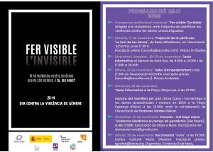 Presentada la Campanya '25 de novembre , Dia Internacional per l'Eliminació de la Violència contra les Dones'