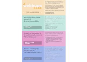 TALLERES A DISTANCIA: WEBINARS PARA EL COMERCIO