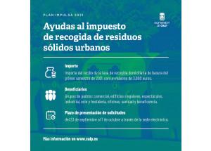 Subvención Recogida de Residuos Urbanos Sólidos