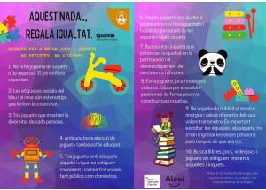 La concejalía de Igualdad lleva a cabo una campaña para visibilizar los juguetes no sexistas