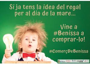 Campanya promocional a Benissa amb motiu del 'Dia del mare'.