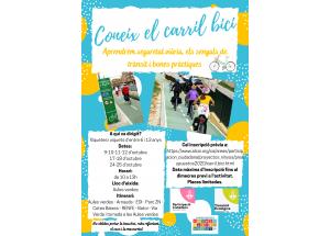 En marxa proposta dels pressupostos participatius per a la Infància: 'Tallers d'educació viària en bicicleta amb monitors'.