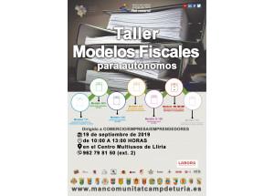 TALLER LOS  MODELOS FISCALES PARA AUTÓNOMOS