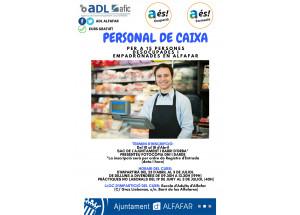 CURS PERSONAL DE CAIXA