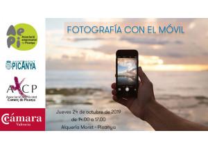TALLER DE FOTOGRAFÍA CON EL MÓVIL PARA COMERCIOS - PICANYA