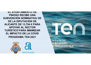 ABIERTO EL PLAZO DE SOLICITUD DE SUBVENCIONES PARA APOYAR AL SECOTR TURISTICO DENOMINADO TEN