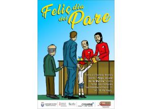 Pego: Campanya del Dia del Pare