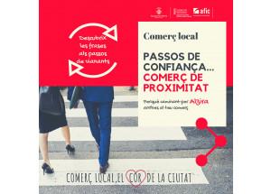 PASSOS DE CONFIANÇA...COMERÇ DE PROXIMITAT
