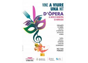 Moncada: Noche de tapas y ópera al Mercado