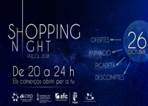 SHOPPING NIGHT PUÇOL 2018