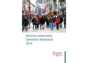 GUIA SOBRE HORARIS COMERCIALS EN LA COMUNITAT VALENCIANA 2018