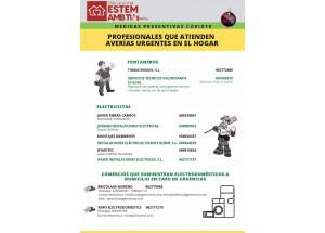COMERCIO: SERVICIOS URGENTES DE AVERÍAS EN EL HOGAR