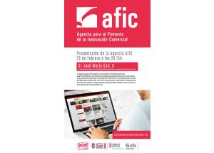 PRESENTACIÓN AFIC Y PORTAL DEL COMERCIANTE.