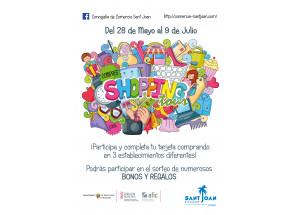 SHOPPING TOUR: COMPRAR EN LOS COMERCIOS DE SANT JOAN TIENE PREMIO