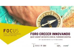 El II Fòrum Créixer Innovant Creama posa el focus d'atenció en el turisme digital.