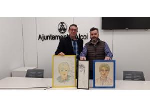 El sobrino de Camilo Sesto, Óscar Blanes Francés, ha donado tres retratos que le hizo su tío para el futuro Museo