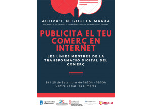 TALLER: PUBLICITA TU COMERCIO EN INTERNET