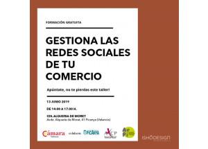 JORNADA GESTIONA LAS REDES SOCIALES DE TU COMERCIO - FORMACIÓN GRATUITA