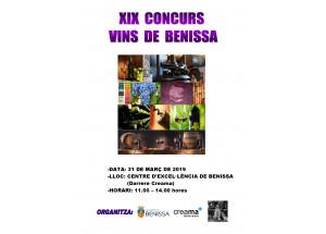 Abierta la inscripción para la XIX edición del concurso de vinos artesanales de Benissa