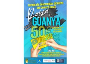 Tornen els descomptes RASCA I GUANYA per a dinatmitzar el teixit empresarial de Pedreguer