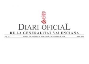 DECRETO 8/2020, de 13 de junio, del president de la Generalitat,
