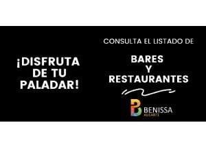 Benissa crea un directorio de empresas de hostelería con servicios a domicilio.