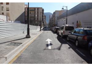 Ja està oberta l'ampliació del carrer Terrassa